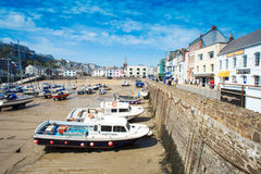 Ilfracombe harbour , North Devon royalty free stock images
