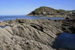 Ilfracombe Küste Stockfoto