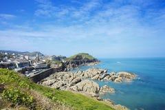 Ilfracombe sulla costa del nord di Devon, Inghilterra Fotografia Stock