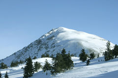 ilgaz βουνό Στοκ Φωτογραφία
