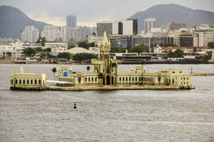 Ilha财政在里约热内卢 免版税库存照片
