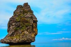 A ilha Imagem de Stock