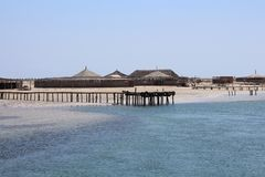 Ilha abandonada, praia vazia Console desinibido Ninguém na foto foto de stock