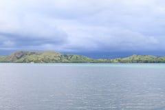 Ilha antes da tempestade foto de stock royalty free