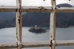 A ilha Bled Fotografia de Stock