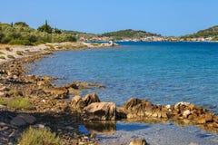 Ilha bonita de Murter Imagens de Stock Royalty Free