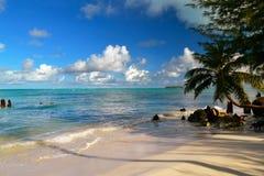 A ilha bonita de Saipan Imagem de Stock Royalty Free