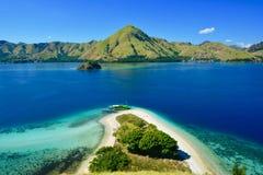 Ilha bonita em Indonésia fotos de stock royalty free