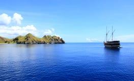 Ilha bonita em Sumbawa Indonésia Foto de Stock