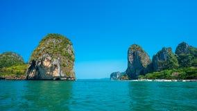 Ilha branca tropical do mar da areia fotografia de stock