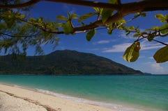 Ilha calma Imagem de Stock Royalty Free