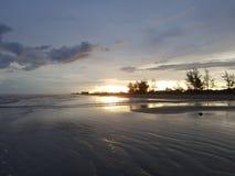 Ilha comprida - Brasilien Arkivfoto
