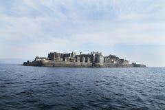 Ilha concreta Imagem de Stock