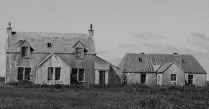 Ilha condenada do croft do tiree Imagem de Stock Royalty Free
