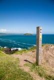 Ilha Cornualha Reino Unido Inglaterra de Looe imagens de stock royalty free