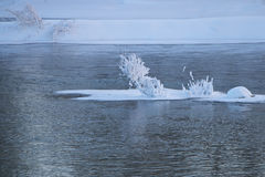 Ilha cristalina Imagens de Stock