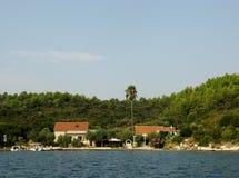 Ilha croata Foto de Stock
