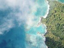 Ilha da beleza do céu fotografia de stock royalty free
