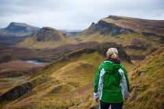 Ilha da caminhada de Skye Fotos de Stock Royalty Free