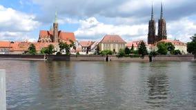 Ilha da catedral de Wroclaw - Polônia filme