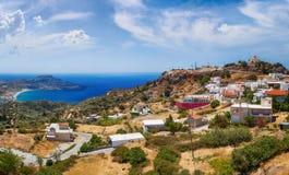 Ilha da Creta no verão. Fotos de Stock Royalty Free