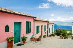 Ilha da Ilha de Elba, Capoliveri Imagem de Stock