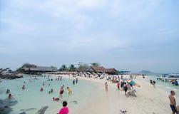 ILHA DA NOK DE KHAI, TAILÂNDIA Imagens de Stock