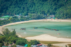 Ilha da phi da phi no mar de andaman, Phuket, Krabi, Tailândia Fotos de Stock