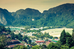 Ilha da phi da phi no mar de andaman, Phuket, Krabi, Tailândia Imagem de Stock
