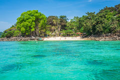 Ilha da phi da phi no mar de andaman, Phuket, Krabi, Tailândia Imagens de Stock