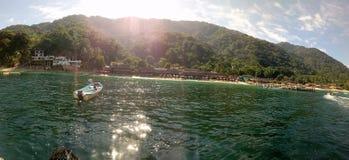 Ilha da praia de Puerto Vallarta fotos de stock