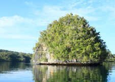 Ilha da rocha fotos de stock