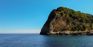 Ilha da rocha Foto de Stock