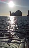 A ilha das agulhas do Wight Fotos de Stock Royalty Free