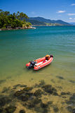 Ilha das Cabras in Ilhabela, Brazil Stock Photography