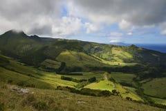 Ilha das Flores, Azores, Portugal Foto de archivo libre de regalías
