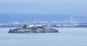 Ilha de Alcatraz em San Francisco, Califórnia 4K vídeos de arquivo