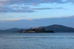 Ilha de Alcatraz de San Francisco Fisherman & x27; cais de s foto de stock royalty free