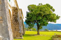 Ilha de Anhatomirim imagens de stock royalty free