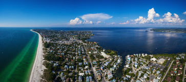 Ilha de Anna Maria, Florida imagens de stock
