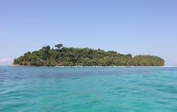 Ilha de bambu imagens de stock royalty free