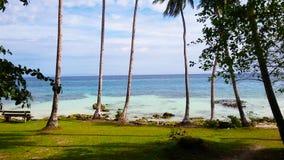 Ilha de Biak foto de stock royalty free