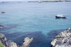 Ilha de Blasket na península do Dingle no Kerry do condado fotos de stock