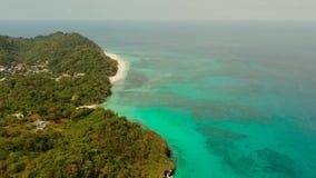 Ilha de Boracay com hotéis, Filipinas filme