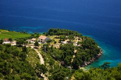 Ilha de Brac Fotografia de Stock Royalty Free