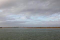 Ilha de Burano, perto de Veneza Fotografia de Stock Royalty Free