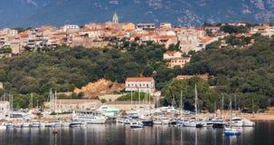 Ilha de Córsega, França Porto-Vecchio imagens de stock royalty free