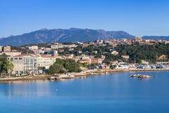 Ilha de Córsega, França Porto-Vecchio no verão imagem de stock royalty free