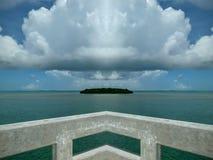 Ilha de canto nenhum filtro Fotografia de Stock