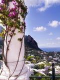 A ilha de Capri fotos de stock royalty free